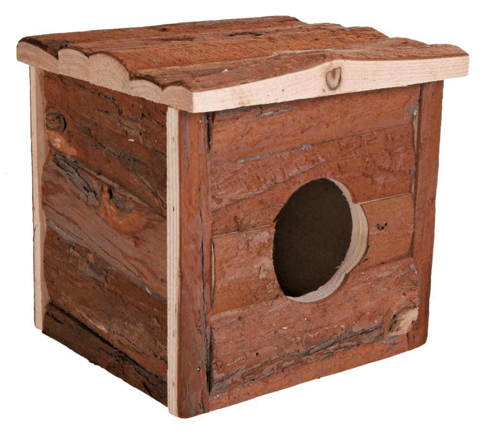 Zdjęcie Trixie Drewniany dom Jerrik  dla gryzoni mały 15 x 14 x 15 cm