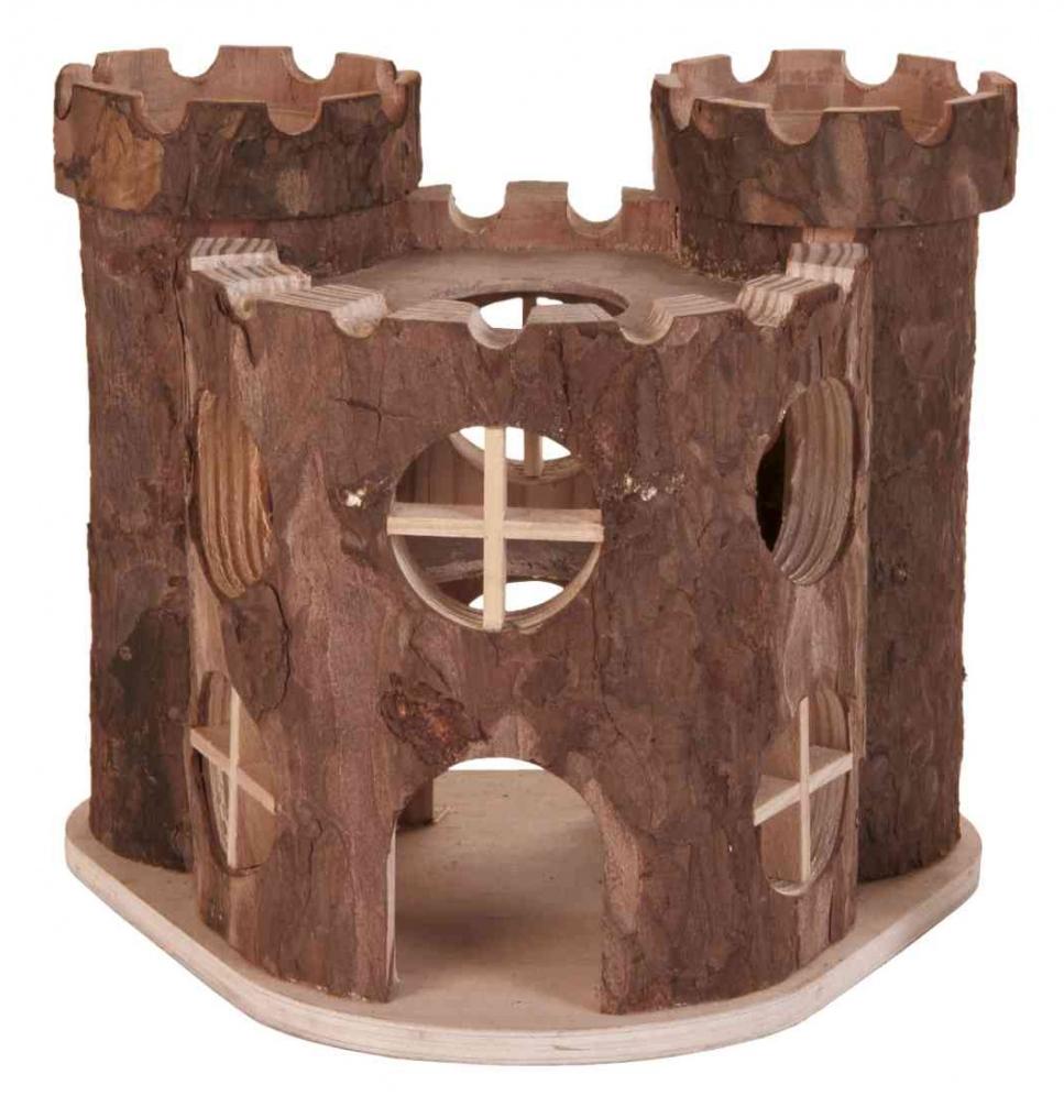Zdjęcie Trixie Drewniany zamek dla gryzoni  17 × 15 × 12 cm