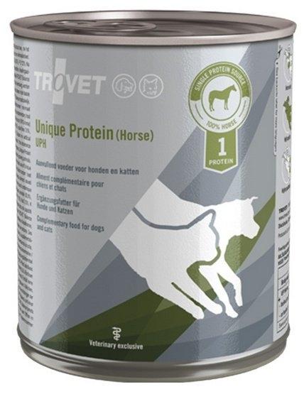 Zdjęcie Trovet UPH (unique protein horse)  puszka dla psa i kota 800g