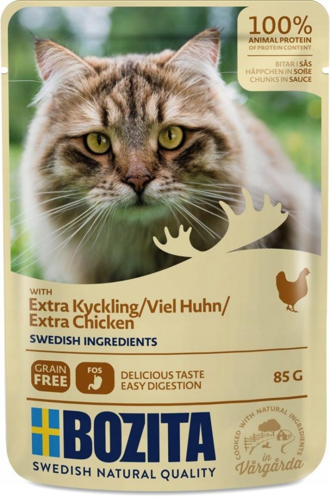 Zdjęcie Bozita Saszetka dla kota  kurczak w sosie 85g