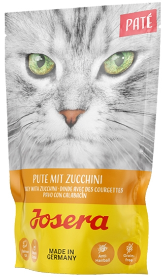 Zdjęcie Josera Pate saszetka dla dorosłych kotów  indyk & cukinia 85g