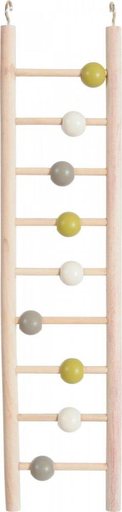 Zdjęcie Zolux Drabinka drewniana dla papug 9 szczebli  10 x 9 x 37,5 cm