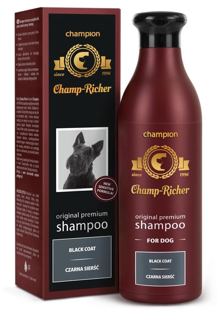 Zdjęcie Champ-Richer Original Premium Shampoo Black Coat Dog  szampon dla psów do czarnej sierści 250 ml