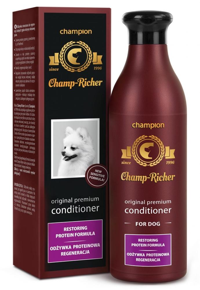 Zdjęcie Champ-Richer Original Premium Conditioner for Dog Restoring Protein Formula odżywka proteinowa regeneracja 250 ml