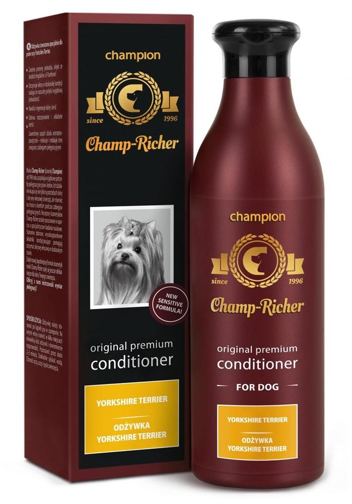 Zdjęcie Champ-Richer Original Premium Conditioner for Dog Yorkshire Terrier odżywka dla psów rasy york 250 ml