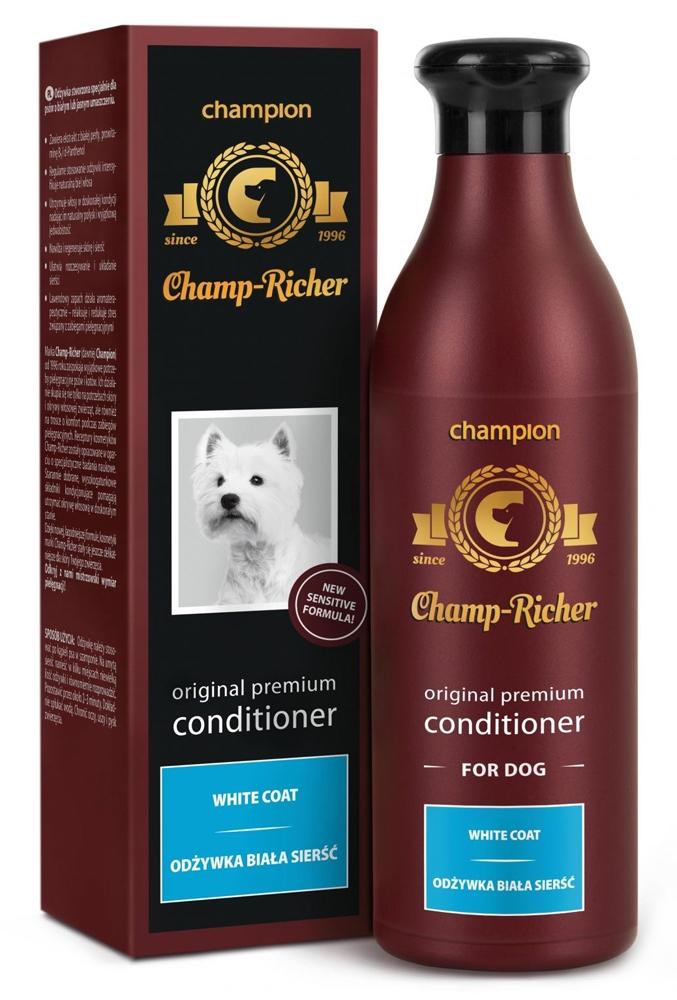 Zdjęcie Champ-Richer Original Premium Conditioner for Dog White Coat odżywka do białej sierści 250 ml
