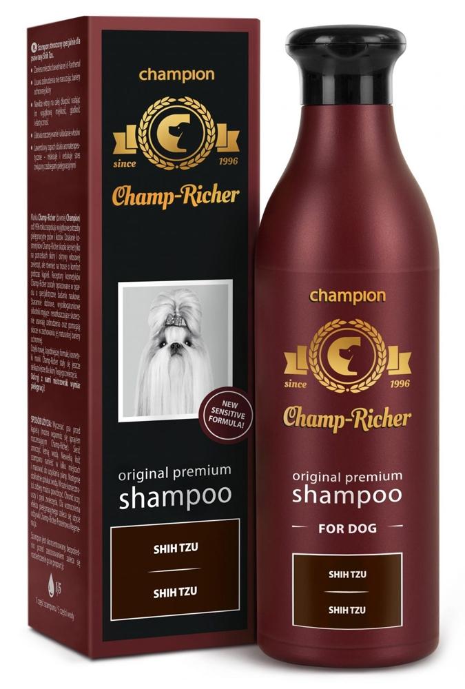 Zdjęcie Champ-Richer Original Premium Shampoo for Dog Shih Tzu  szampon dla psów rasy shith tzu 250 ml