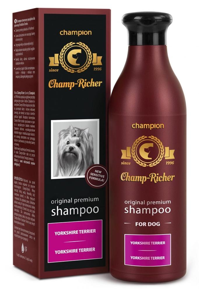 Zdjęcie Champ-Richer Original Premium Shampoo for Dog Yorkshire Terrier szampon dla psów rasy york 250 ml