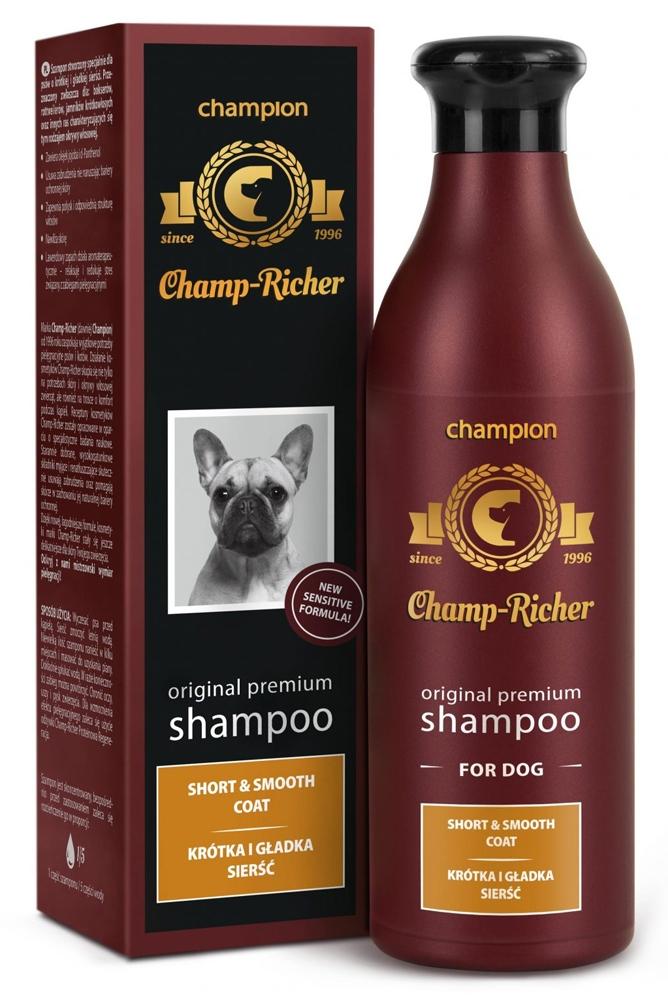 Zdjęcie Champ-Richer Original Premium Shampoo Short & Smooth Coat Dog szampon dla psów o krótkiej i gładkiej sierści 250 ml