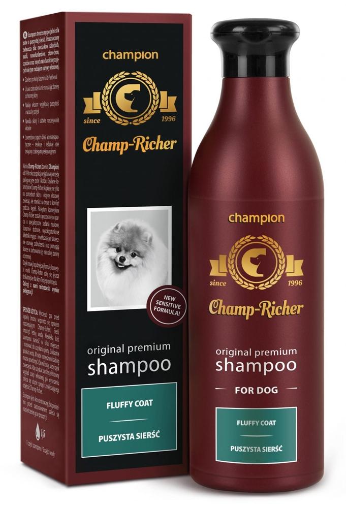 Zdjęcie Champ-Richer Original Premium Shampoo Fluffy Coat Dog  szampon dla psów o puszystej sierści 250 ml