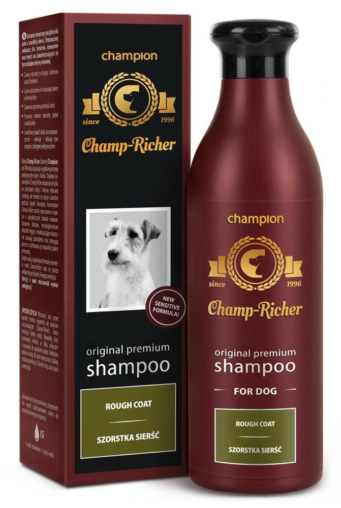 Zdjęcie Champ-Richer Original Premium Shampoo Rough Coat Dog  szampon dla psów o szorstkej sierści 250 ml