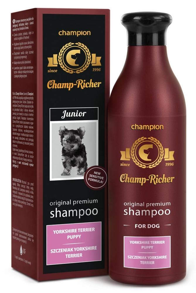 Zdjęcie Champ-Richer Original Premium Shampoo for Yorkshire Puppy  szampon dla szczeniąt rasy york 250 ml