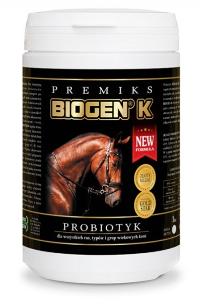 Zdjęcie Nuba Equi Probiotyk dla koni - Biogen K  wiaderko 1kg