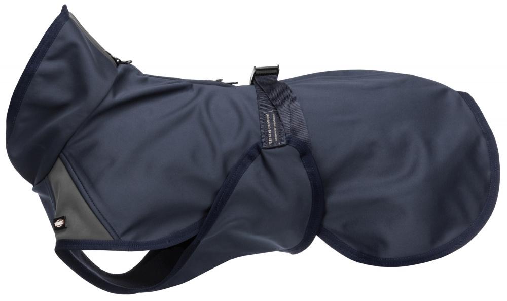 Zdjęcie Trixie Płaszczyk softshellowy Aston  granatowy/szary dł. 62 cm