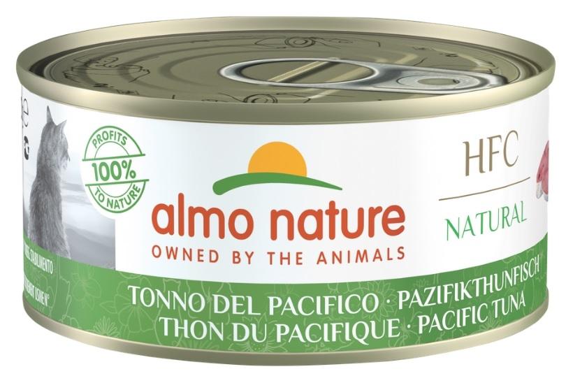 Zdjęcie Almo Nature HFC Natural Puszka duża w sosie tuńczyk z oceanu spokojnego 150g