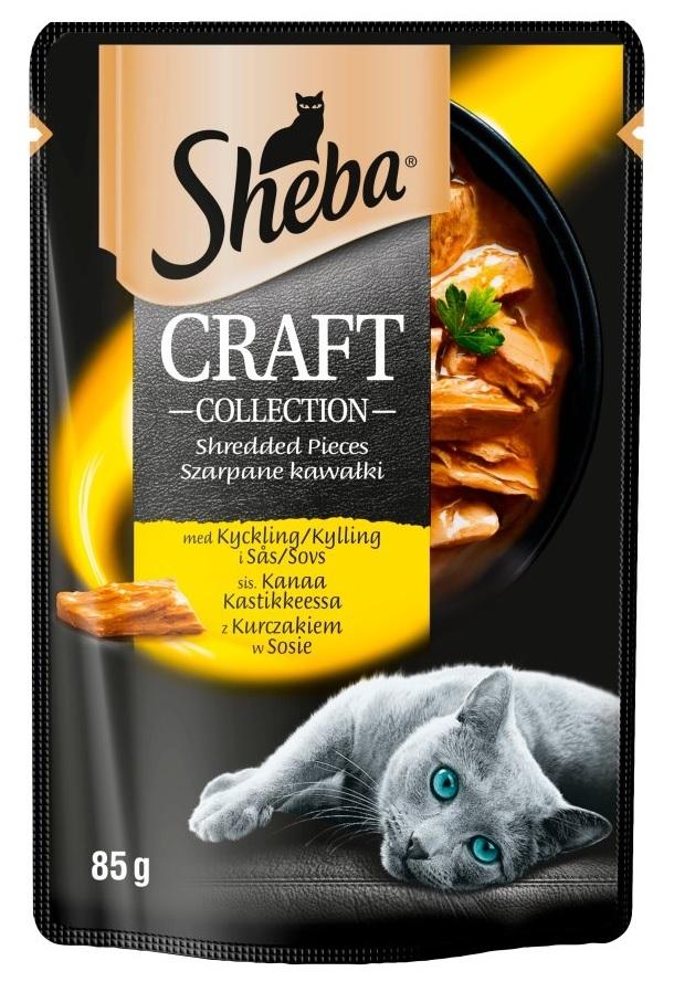 Zdjęcie Sheba Craft Collection saszetka  z kurczakiem w sosie 85g