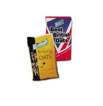 Zdjęcie Baileys OUTLET KRÓTKA DATA Best British & Honey Oats  owies lekko obłuszczony 20kg