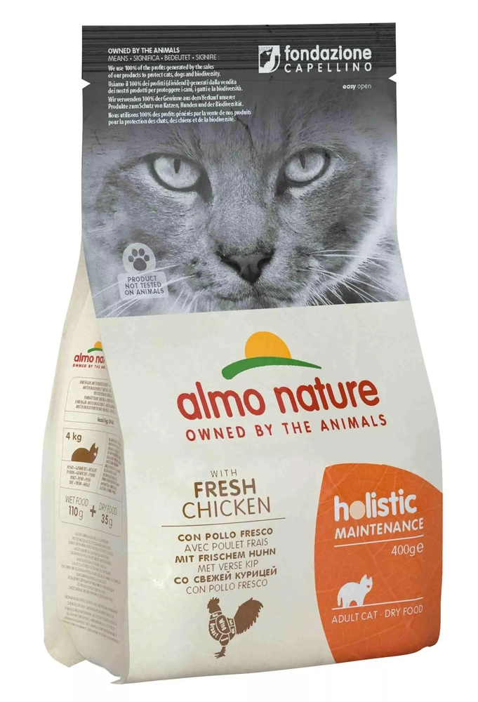 Zdjęcie Almo Nature Holistic Cat Adult  z kurczakiem 400g