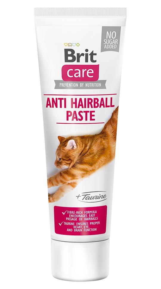 Zdjęcie Brit Care Anti Hairball Paste with Taurine  pasta dla kota odkłaczająca z tauryną 100g