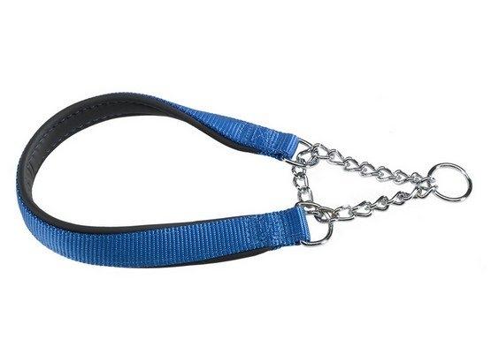 Zdjęcie Ferplast Daytona obroża dla psa z łańcuszkiem  niebieska 15 mm / 45 cm