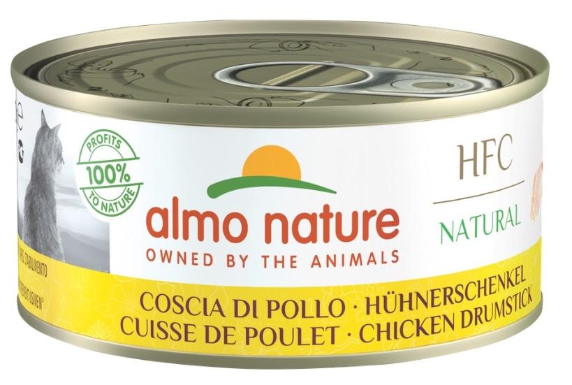 Zdjęcie Almo Nature HFC Natural Puszka duża w sosie udko z kurczaka 150g