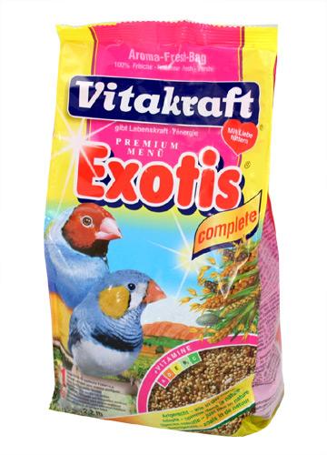 Zdjęcie Vitakraft Exotis pokarm dla ptaków egzotycznych   1kg