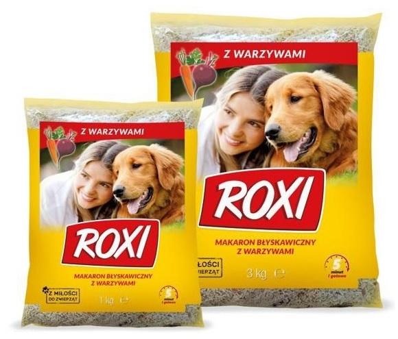 Zdjęcie Roxi Makaron z warzywami dla psów   5kg