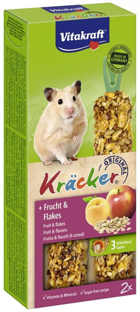 Zdjęcie Vitakraft Kracker Kolby dla chomika  owoce + płatki 2 szt.