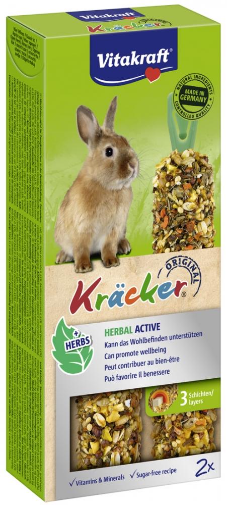 Zdjęcie Vitakraft Kracker Kolby dla królika  Herbal Active 2 szt.