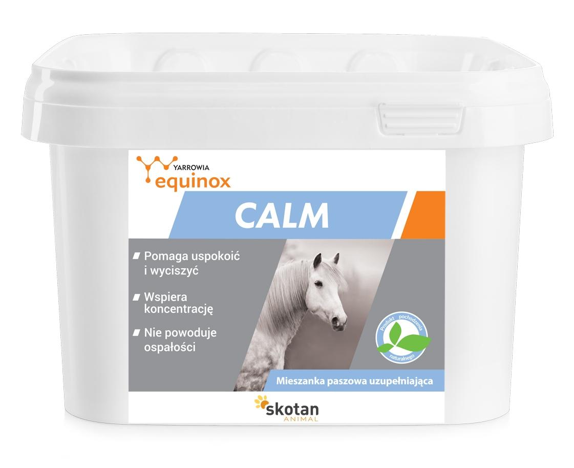 Zdjęcie Yarrowia Equinox Calm drożdżowa mieszanka paszowa dla koni wyciszenie nerwów i nadpobudliwości 1.5kg