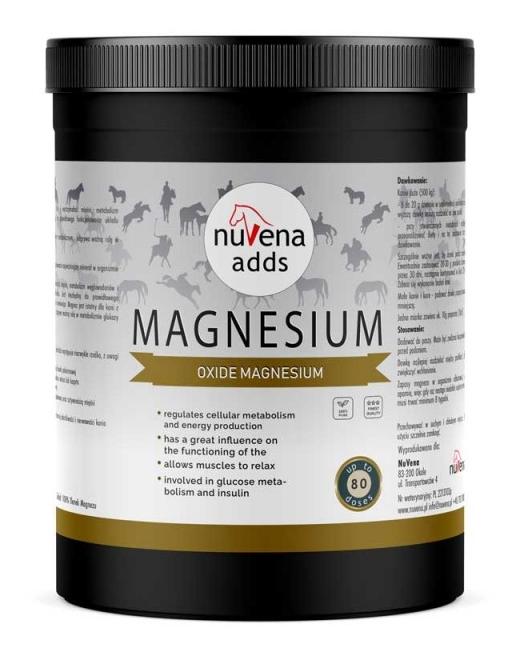 Zdjęcie Nuvena Magnesium magnez dla koni   1.2kg
