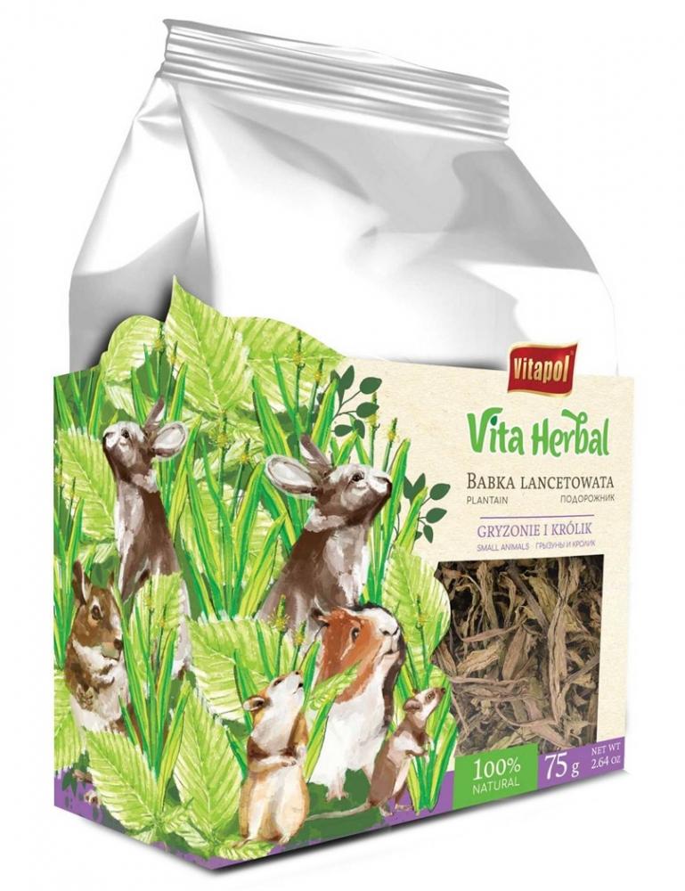 Zdjęcie Vitapol Vita Herbal Babka lancetowata dla Gryzoni i Królików  75g