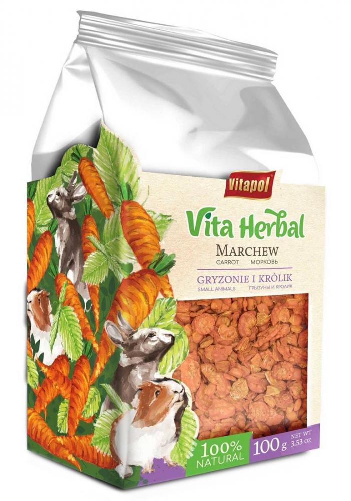 Zdjęcie Vitapol Vita Herbal Marchewka dla Gryzoni i Królików  100g