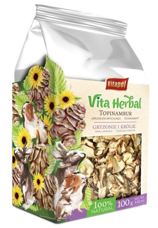 Zdjęcie Vitapol Vita Herbal Topinambur dla Gryzoni i Królików  100g