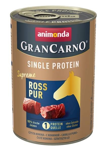 Zdjęcie Animonda Grancarno Single Protein  konina 400g