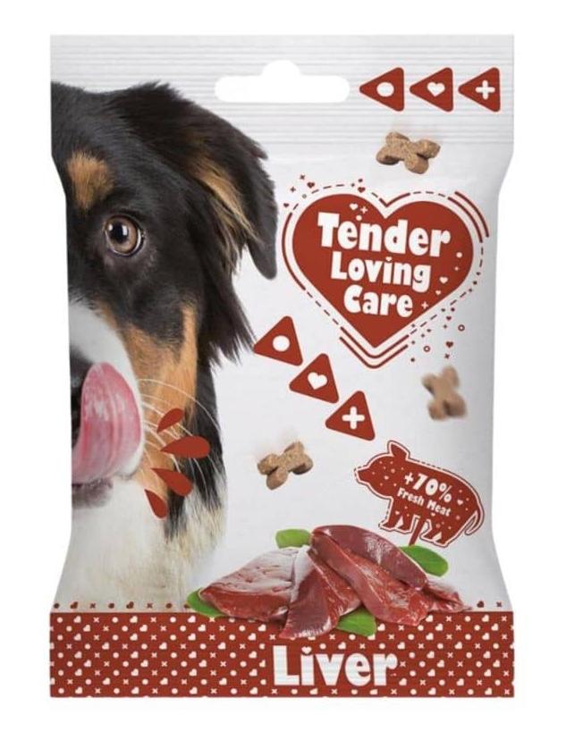 Zdjęcie Duvo+ Tender Loving Care przekąski dla psów  Liver Soft Snack 100g
