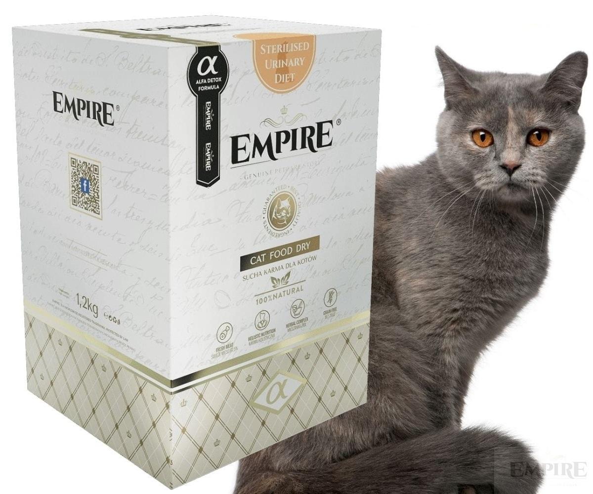 Zdjęcie Empire Cat Sterilised Urinary Diet karma sucha w tubie 1.2kg