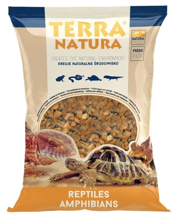 Zdjęcie Terra Natura Kokosowe podłoże do terrarium  duże >2,5 cm 4l