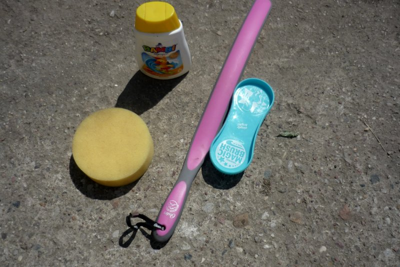 1eed58c19b621 Original Magic Brush szczotki do pielęgnacji koni Lollipop 3 szt ...